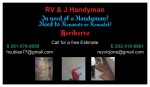 RV&J Handyman and Cleaning services