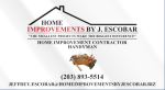 HOME IMPROVEMENTS BY J. ESCOBAR