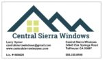 Central Sierra Windows