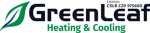 GreenLeaf Heating and Cooling logo
