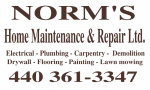 NORM'S Home Maintenance & Repair Ltd.